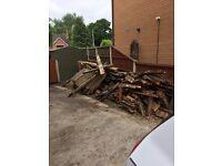 Old Decking Wood Free To Take