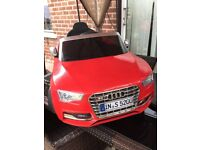 Audi Ride on (used twice)