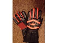 motorcycle gloves and jacket for sale