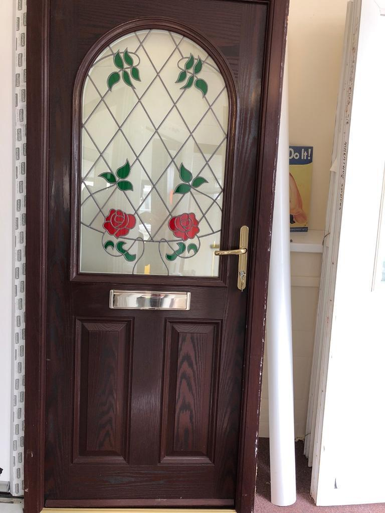 Composite Front Door Rosewood In Westcliff On Sea Essex