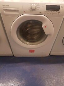 Hoover washing machine is in perfect working order and in good condition with full digital display