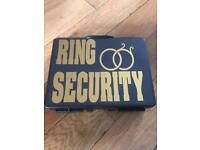 Ring Security Box/Briefcase for wedding