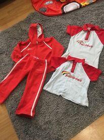 Rainbow uniform items