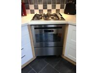Hotpoint fan oven with separate warming drawer. Full working order in very good condition