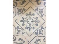 Ceramic floor tiles 3 square metres