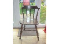 Old Oak Chair