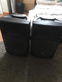 "2 x Mackie Thump 12a 12"" PA Loud Speakers *Read Description*"