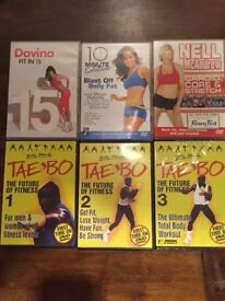 6 workout dvds