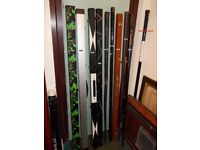 """***** 40+ Years """"CUE"""" collection of Snooker, & Pool, Cues also Extensions/Cases BARGAINS *****"""