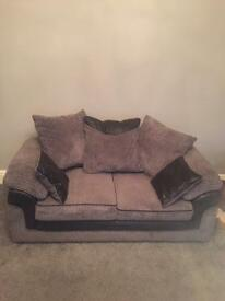 2 x 2 seater sofa for sale - 1 year old
