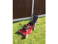 Champion 3.75hp petrol lawn mower for sale