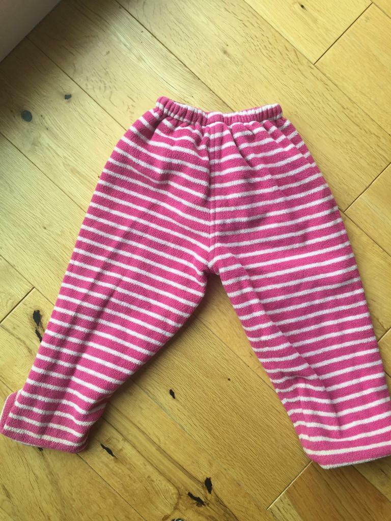 Jojo Maman Bebe Waterproof fleece lined trousers 18-24 months