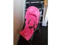 Pink Stroller great condition