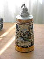 Original King Werk 1/2L Beer Stein (W. Germany)