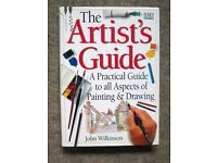 The Artist's Guide - a hardback book on painting and drawing