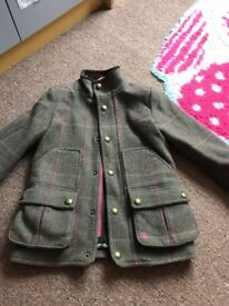 Girls joules coat 6years