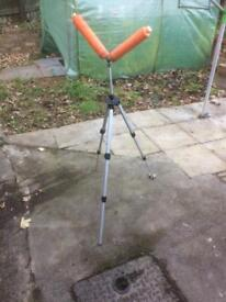 Fully adjustable pole rest