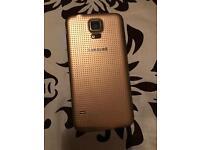 Samsung galaxy S 5 GOLD