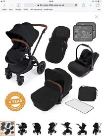Ickle Bubba V3 Stomp Buggy (Black) for £375.00
