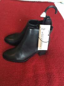 Tesco ladies boots, brand new never worn, were £25 when I bought them still have labels on.