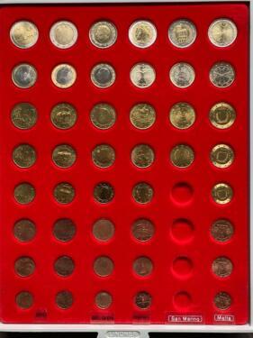 Euro Münzen Münzsätze Verschiedene Länder 1999200020012002 In