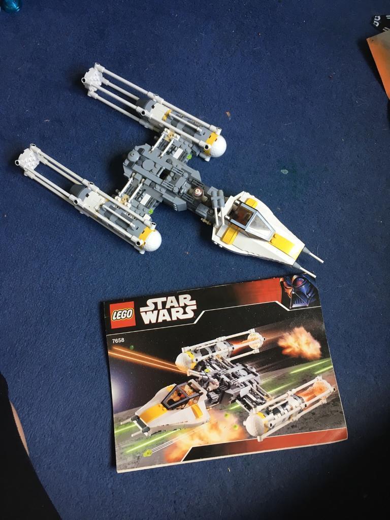 Lego Star Wars Y Wing 7658 Complete In Norwich Norfolk Gumtree