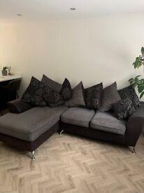 SCS Naples scatter back corner sofa