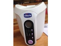 Chicco digital bottle warmer. With all the instructions