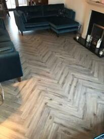 Laminate flooring / Herringbone/ Joiner