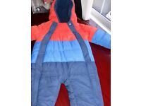 M&S boys snowsuit 6-9 months . £5
