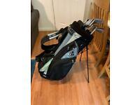 Callaway Golf bag and Ryder clubs