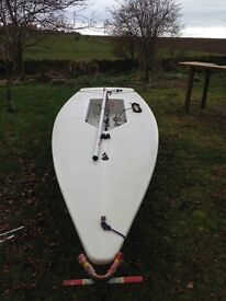Laser 1 sailing dinghy