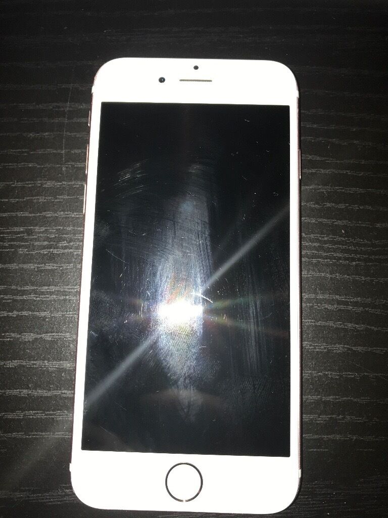 IPhone 6s rose gold. 16GBin Dowlais, Merthyr TydfilGumtree - IPhone 6s rose gold 16GB for sale. On EE but currently in process of being unlocked to all networks. The phone needs a new LCD screen. Inside has run so screen doesnt work. Will be good for someone handy with repairing them or will cost around 75£...