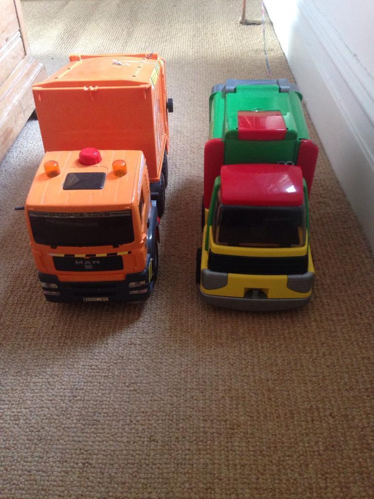 Bin trucks!!