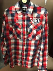 Gstar Men's XL shirt. Worn once. PRICE DROP !