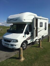 Swift Carrera 590RL,Fiat Ducato 2.3jtd,40000 miles only,full service history,4 berth,newmot,all good