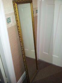 Vintage tall mirrors. £10 each.