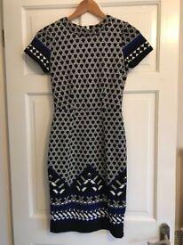 Unworn H & M patterned dress - size XS