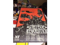 Wall Picture of Poster for State of Revolution play for National Theatre by Robert Bolt