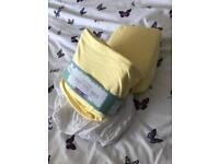 Brand new cot fitted sheets 60x120 never used