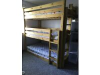 PRICE REDUCED!! Triple bunk beds