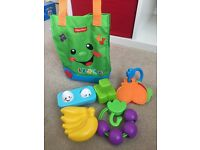 Fisher price laugh and learn shopping bag