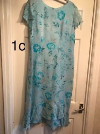 Jacques Vert Ladies Wedding Outfit Azure (matching bag, shoes & hat available too)