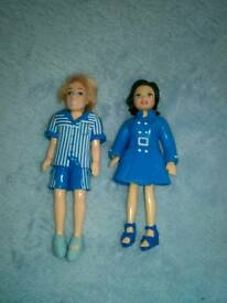 Polly Pocket Toy Dolls 9.5 cm. £5.00.