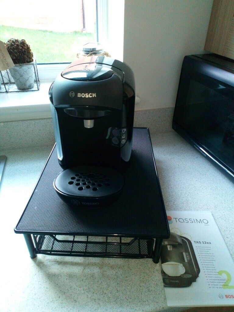 Bosch Tassimo Vivy Coffeehot Chocolate Machine With Pod Dispenser Stand Excellent Condition In Exeter Devon Gumtree