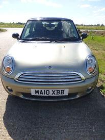 2010 Mini Cooper 1.6 3 Door, Very Low Mileage, Full Main Agent Service History