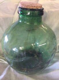 Glass Garden in a Bottle