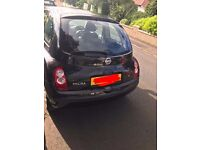 55 Plate Black Nissan Micra For Sale