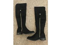 Brand New Knee High Boots Size 4