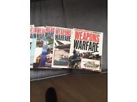 Weapons and ware fare magazines from 1970's 1st 14 editions